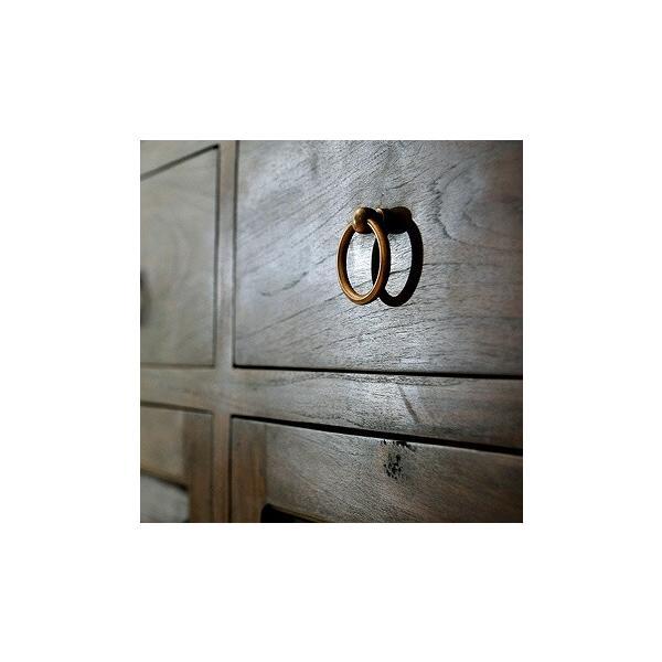 キャビネット アジアン家具 アジアン家具 チーク無垢材 おしゃれ 幅120 木製 バリ リゾート インテリア モダン 高級感 サイドボード チェスト 収納 完成品|loopsky|07