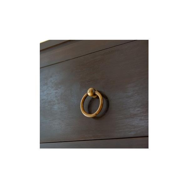 キャビネット アジアン家具 チーク無垢材 おしゃれ 幅100 木製 バリ リゾート インテリア モダン 高級感 サイドボード チェスト 収納 完成品|loopsky|05