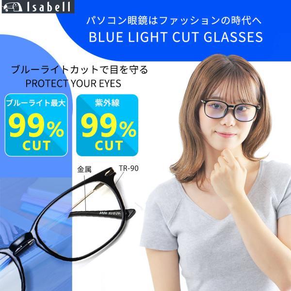 JIS検査済 ブルーライトカットメガネ PCメガネ pcめがね ブルーライトカット パソコン 度なし メンズ レディース UVカット 軽量 眼鏡 伊達メガネ ケース付き|lorelife|04