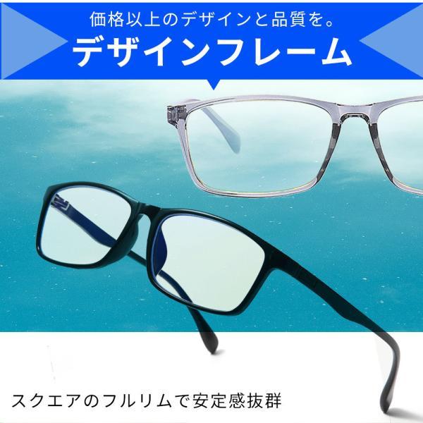 JIS検査済 PCメガネ ブルーライトカットメガネ PC眼鏡 パソコン メガネ おしゃれ ブルーライトカット 度なし メンズ レディース 軽量 伊達メガネ 送料無料|lorelife|10