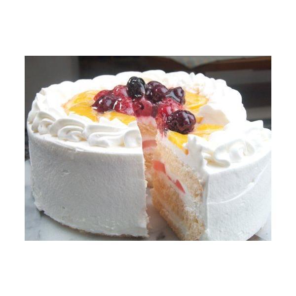 誕生日ケーキ バースデー 生デコレーションケーキ5号 とってもフルーティ デコレーションケーキ クリスマスケーキ (お菓子工房 ロリアン)