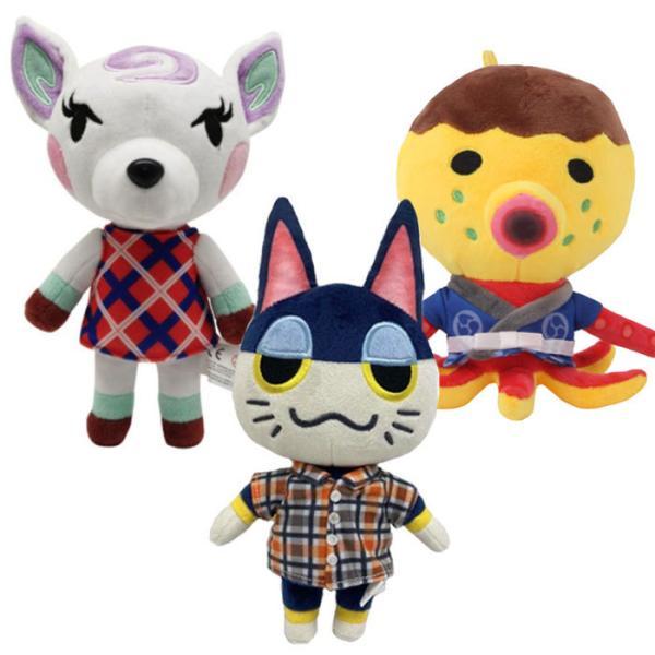【送料無料】どうぶつの森 あつまれ ぬいぐるみ 小サイズ 住人 人形 グッズ ゲーム キャラクター