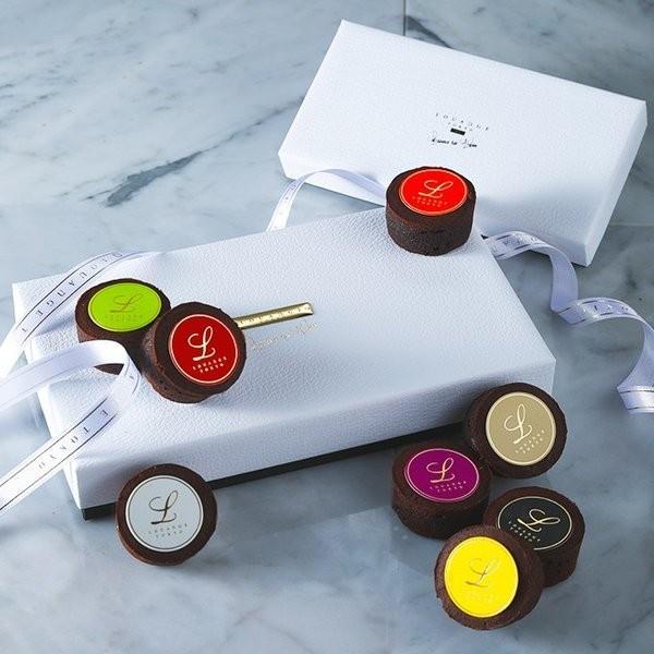 嬉しいギフト チョコレート ショコラ  スイーツギフト ルワンジュ東京 パレット フォンダンショコラ ギフト袋(付き) チョコレート ショコラ|louangetokyo
