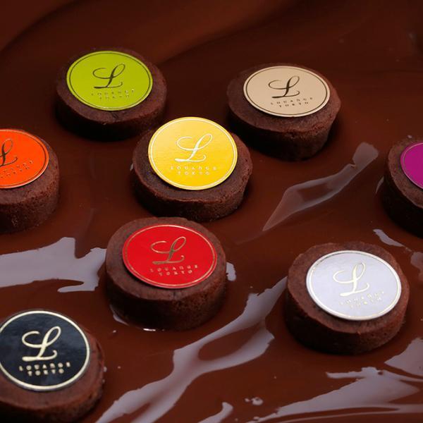 嬉しいギフト チョコレート ショコラ  スイーツギフト ルワンジュ東京 パレット フォンダンショコラ ギフト袋(付き) チョコレート ショコラ|louangetokyo|05