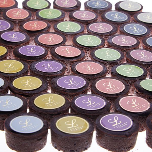 嬉しいギフト チョコレート ショコラ  スイーツギフト ルワンジュ東京 パレット フォンダンショコラ ギフト袋(付き) チョコレート ショコラ|louangetokyo|06
