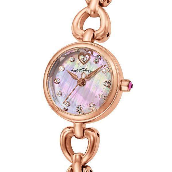エンジェルハート 腕時計 レディース ブライトハート 21mm ピンクパール/ピンクゴールド Angel Heart Bright Heart BH21PP