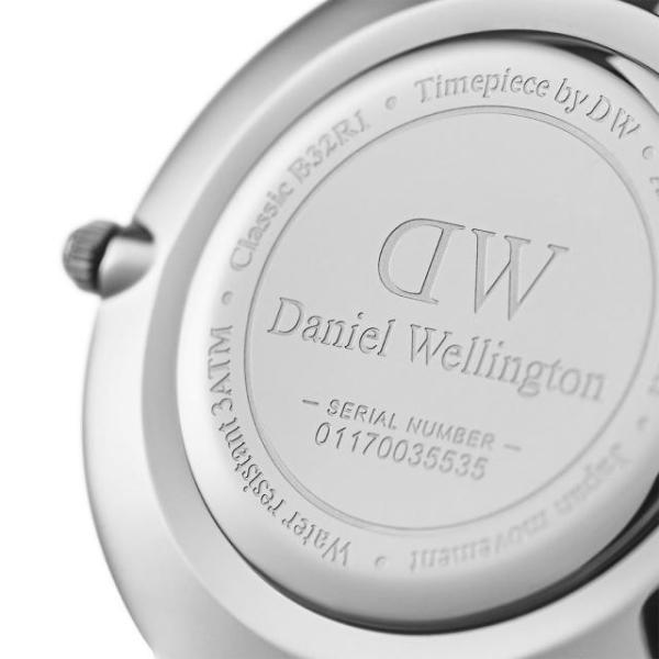 ダニエルウェリントン 腕時計 クラシックペティット 32mm スターリングホワイト シルバー メンズ レディース32mm DW00100164