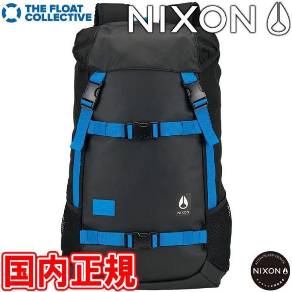 ニクソン ランドロック2 バックパック ブラック/ブルー/フロート NIXON LANDLOCK II BACKPACK リュックサック NC19532835-00