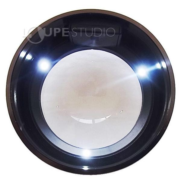 LED付ルーペ LED付き デスクルーペ 3倍 拡大鏡 スモリア SMOLIA 3R-SMOLIA-5 3R|loupe|06