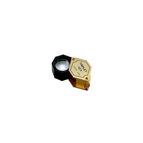 ルーペ 虫眼鏡 宝石用ルーペ 7015 10倍 20.5mm 高倍率|loupe