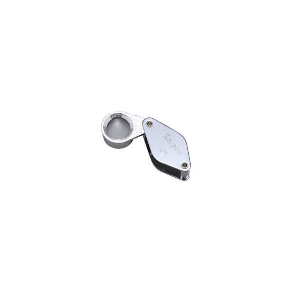 ルーペ 虫眼鏡 メタルホルダールーペ 7020 10倍 13mm 高倍率ルーペ|loupe