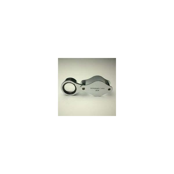 ルーペ 虫眼鏡 メタルホルダールーペ 7090 20倍 15mm|loupe