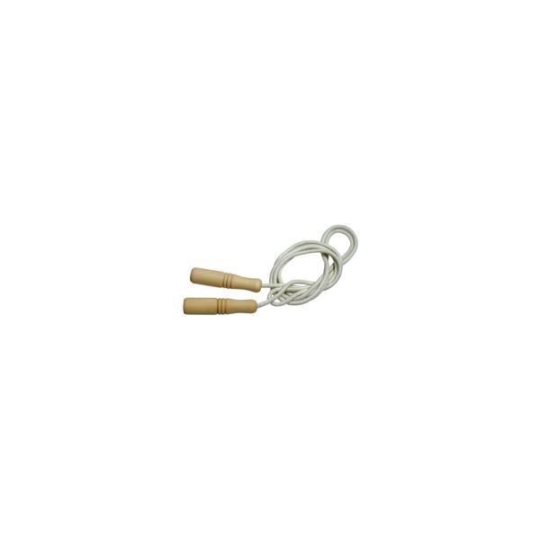スポーツ玩具 木柄なわとび 縄跳び 縄飛び 子供用|loupe