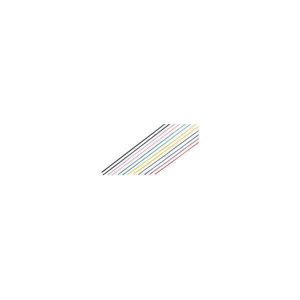 カラーワイヤー 6色 12本組 ワイヤー 工作 教材 材料 学習教材 理科