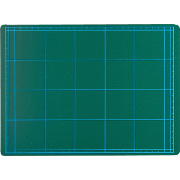 カッティングマット グリーン A2判 カッター マット DIY 工具 画材 工作 図工 美術 自由研究 学校教材