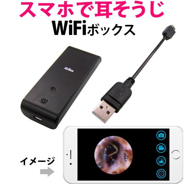 耳掻き おすすめ道具 カメラ WiFiボックス コデ...