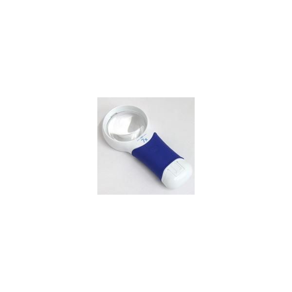 ルーペ LEDライト付き 携帯 高倍率 おすすめ 虫眼鏡 拡大鏡 弱視 7倍 57.6mm 検査 検品 ロービジョン オートタッチ マックス AT・M