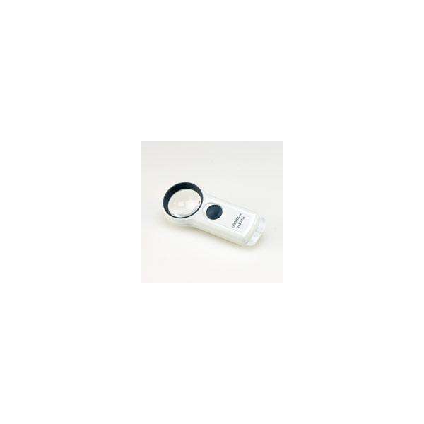 虫眼鏡 拡大鏡 モバイルルーペ 46mm 7倍 コイル製 拡大 ルーペ ライト付きルーペ 拡大鏡