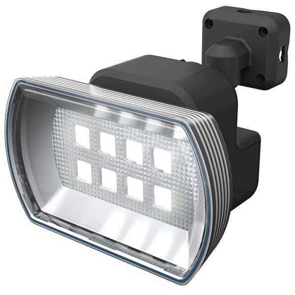 センサーライト 屋外 屋内 LEDライト 4.5Wワイド 乾電池式 防雨型 フリーアーム式 玄関 駐車場 人感センサー 自動点灯 防犯 防災 人気