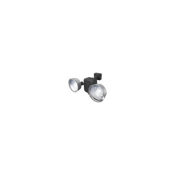 センサーライト 屋外 屋内 LEDライト 3.5W×2灯 乾電池式 防雨型 フリーアーム式 玄関 駐車場 人感センサー 自動点灯 防犯 防災 人気