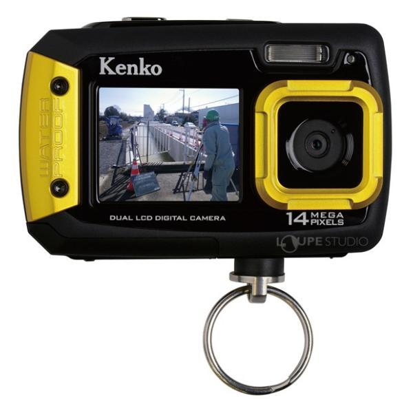 カメラ 防水 小型 デジタルカメラ マイクロSDカード8GB付・強撥水デジカメポーチ付 アクションカメラ|loupe|02