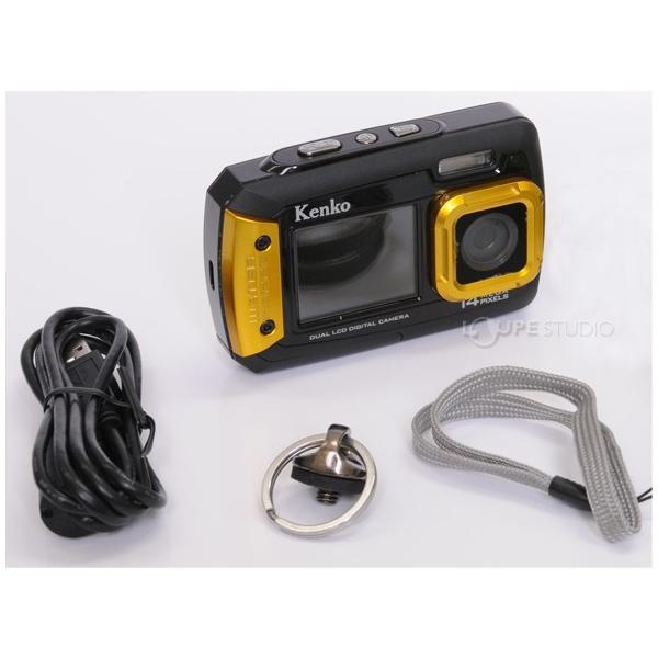 カメラ 防水 小型 デジタルカメラ マイクロSDカード8GB付・強撥水デジカメポーチ付 アクションカメラ|loupe|09