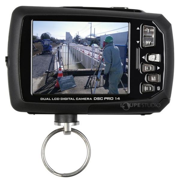 カメラ 防水 小型 デジタルカメラ マイクロSDカード8GB付・強撥水デジカメポーチ付 アクションカメラ|loupe|03