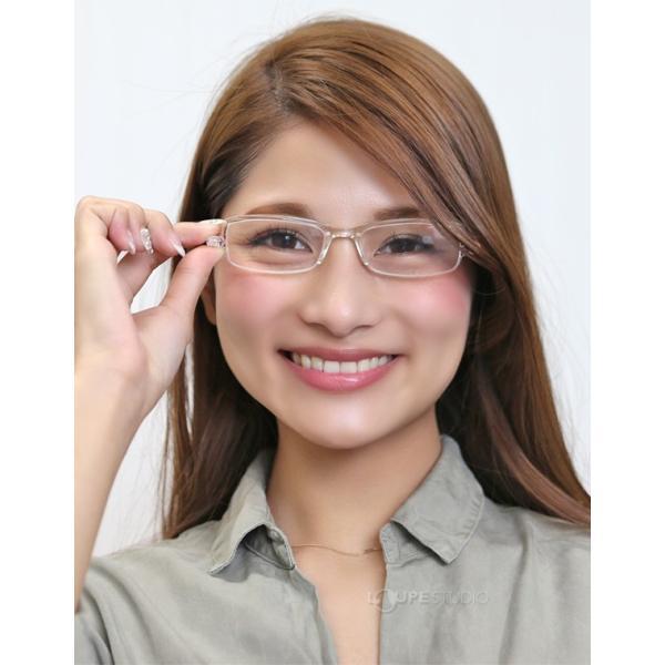 老眼鏡 男性 女性 折りたたみ 携帯 おしゃれ コンパクト ケース付き シニアグラス リーディンググラス|loupe|14