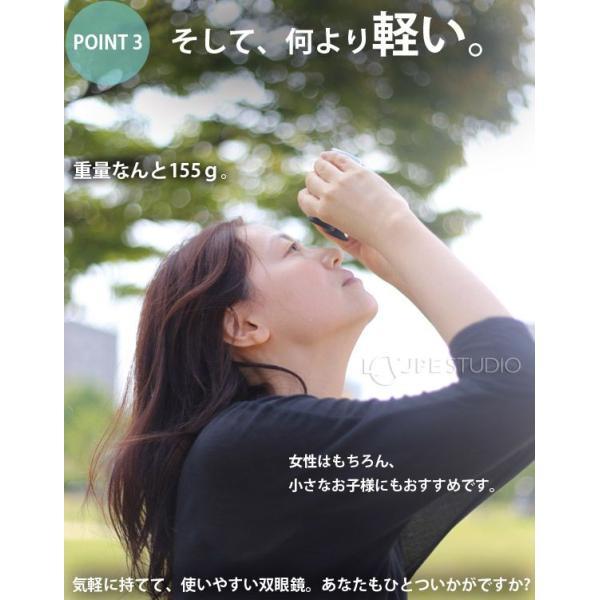 双眼鏡 10倍 ナシカ コンサート コンパクト 10×21CR-IR オペラグラス ライブ ドーム コンサート ライブ|loupe|05