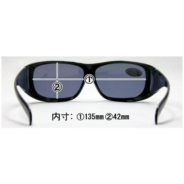 オーバーサングラス (レディース) AXE アックス 偏光 オーバーグラス ポラライズド SG-602P オーバーサングラス UV カット 偏|loupe|02