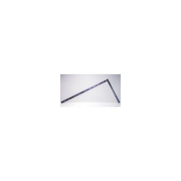 曲尺ツーバイフォー シルバー 2×4/1尺5寸 併用目盛 19mm巾 10056 かねじゃく さしがね 定規 ステンレス シンワ測定