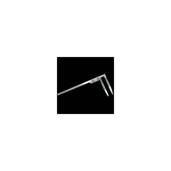 定規 計測器 材木尺 ステン 30cm表2mm・裏1mm目盛 63509 シンワ測定
