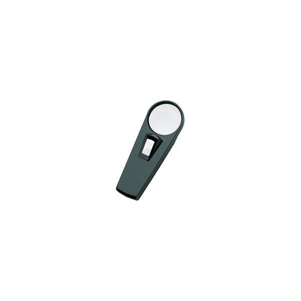 虫眼鏡 ルーペ E ライト付 50mm 3倍 75761 虫めがね 実験 検査 シンワ測定