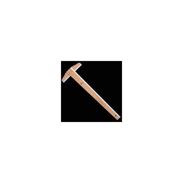 T型定規 木製 60cm 76759 製図 図面 教材 シンワ測定