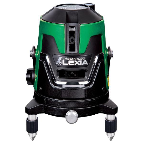 レーザー墨出し器 グリーン 本体のみ レーザーロボ LEXIA51 70845 シンワ 墨出器 墨出し 墨出し機 レーザーレベル レーザー水平器 レー