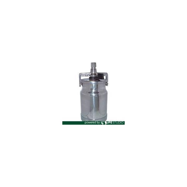 スプレーガン デビルビス 吸上式塗料カップアルミ製レバータイプ(容量1000cc)G1/4 [KR-555-2] KR5552 販売単位:1 送料無料