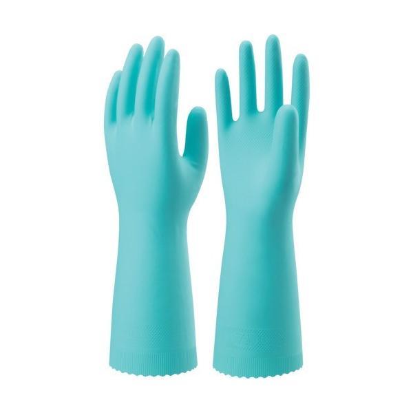 ショーワ ニトリルゴム手袋 ナイスハンドエクストラ中厚手 Lサイズ 緑 [NHEXC-LG           GN] NHEXCLG 販売単位:1