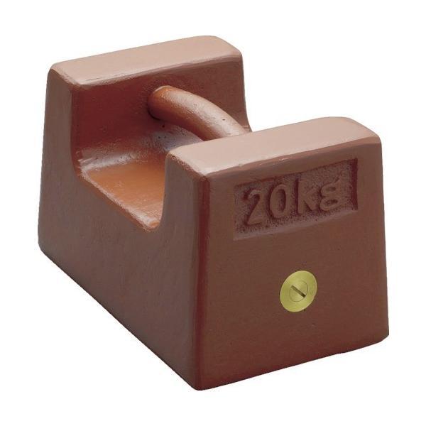 分銅 ViBRA 鋳鉄製枕型分銅 10kg M1級 [M1RF-10K] M1RF10K 販売単位:1 送料無料