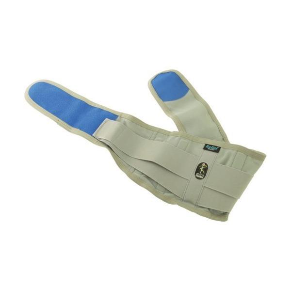 ミドリ安全 腰部保護ベルト スーパーリリーフ LLサイズ [RELIEF-LL] RELIEFLL 販売単位:1 送料無料|loupe