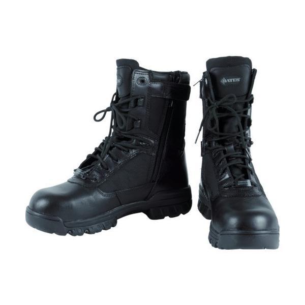 作業靴 安全靴 ブーツ 滑らない くつ タクティカルブーツ 革 大きいサイズ おしゃれ かっこいい 高級 Bates スポーツ コンポジットトー 8 EW7.5 [E02263EW7.