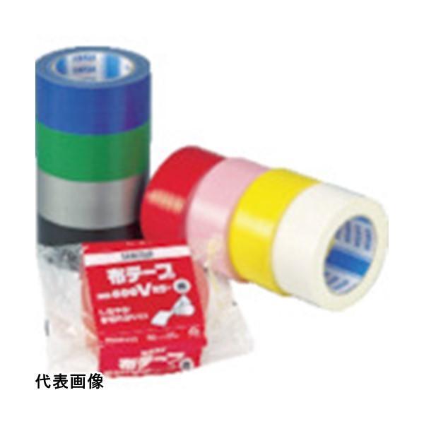 カラー布粘着テープ 積水 布テープNo.600Vカラー 銀 [N60GV03] N60GV03 販売単位:1