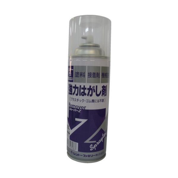 粘着剤クリーナー シントー 強力はがし剤スプレーリムーバーZ 420ML [9886-0.42] 98860.42 販売単位:1
