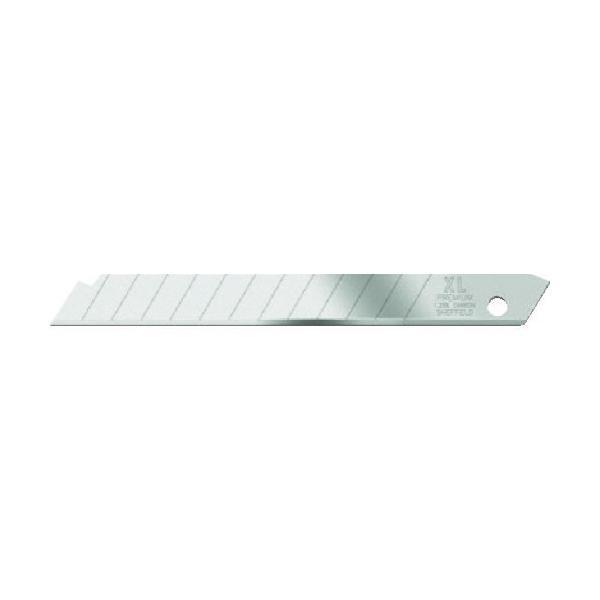 カッター 替刃 カッターナイフ おすすめ 工具 JEWEL XLプレミアムシルバー替刃 10枚 ディスペンサーケース [JB2008118] JB2008118 販売単位:1