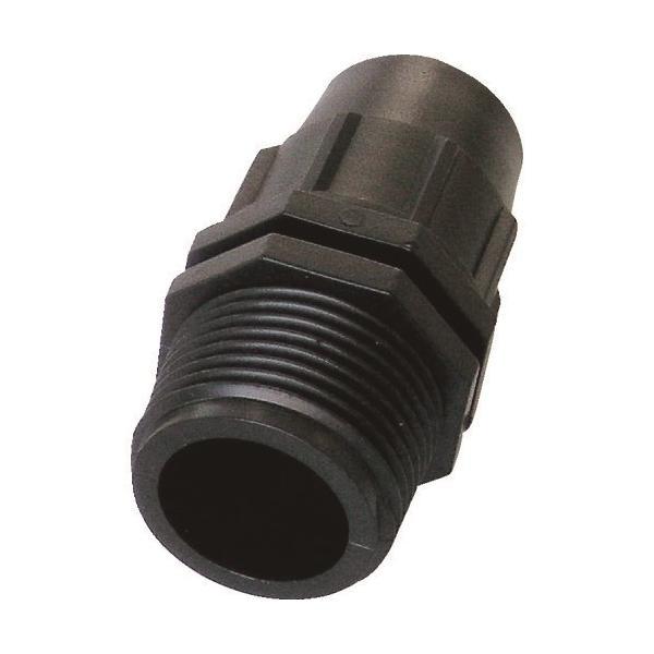 自動散水システム グローベン 3/4・16mmクイックメイルアダプター [C10PJ724T] C10PJ724T  販売単位:1