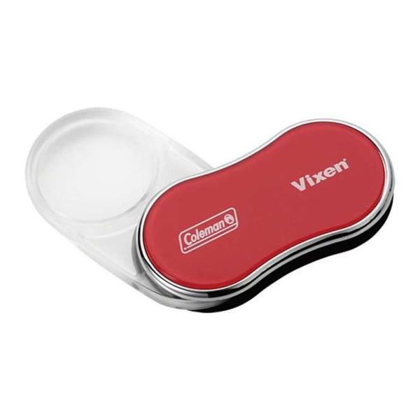 ルーペ コールマン LEDポケット35 拡大鏡 虫眼鏡 ライト付き おすすめ 老眼 プレゼント 携帯用 ビクセン VIXEN