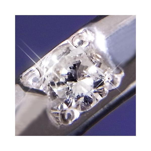 リング 指輪 レディース オーダーメイド プラチナPt100一粒ダイヤモンド甲丸タイプリング 指輪