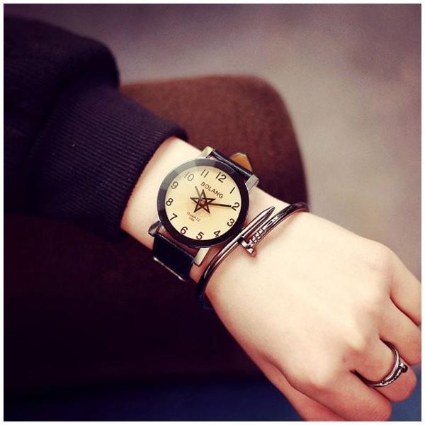腕時計 レディース 時計 おしゃれ かわいい 人気 アクセサリー 秒針が星形なおしゃれなレディースファッションウォッチ 腕時計 安い 40代 50代 30代 20代|loveaccessories|03