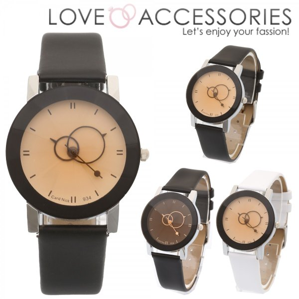 huge discount 10b81 737a9 腕時計 レディース ウォッチ かわいい おしゃれ 秒針が個性的でおしゃれなシンプルファッションウォッチ 腕時計