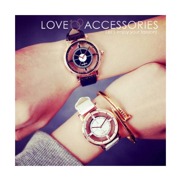 腕時計 レディース ウォッチ 時計 おしゃれ かわいい 人気 アクセサリー シースルー文字盤がおしゃれなレディースファッションウォッチ 腕時計|loveaccessories