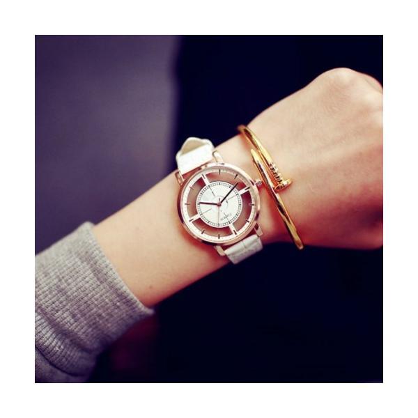 腕時計 レディース ウォッチ 時計 おしゃれ かわいい 人気 アクセサリー シースルー文字盤がおしゃれなレディースファッションウォッチ 腕時計|loveaccessories|02